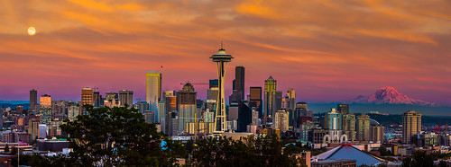 Golden Seattle | by howardignatius