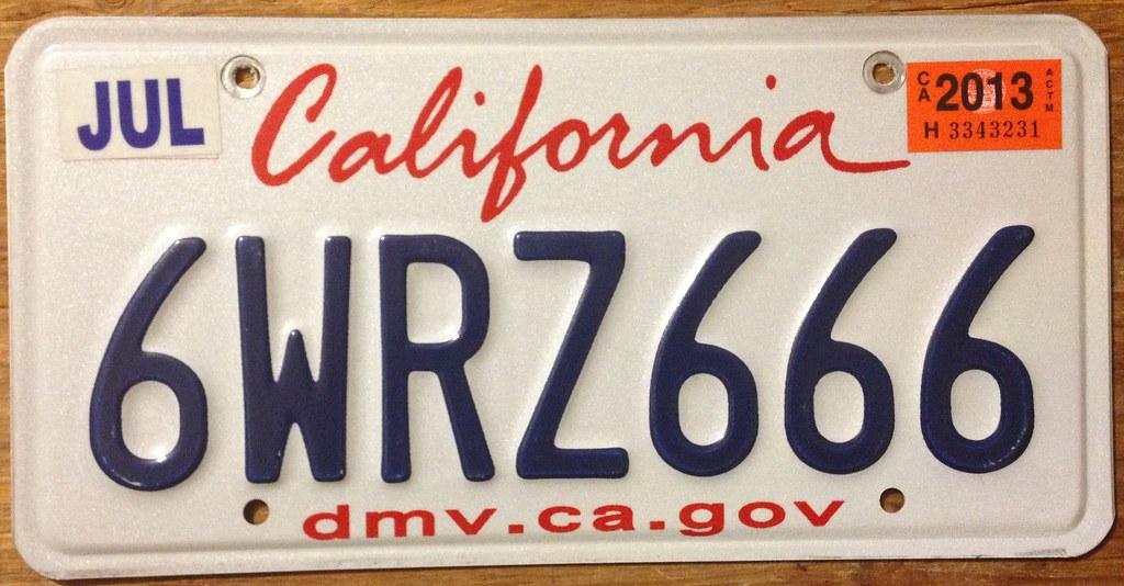 C Alifornia Dmv No Plates Leased Car