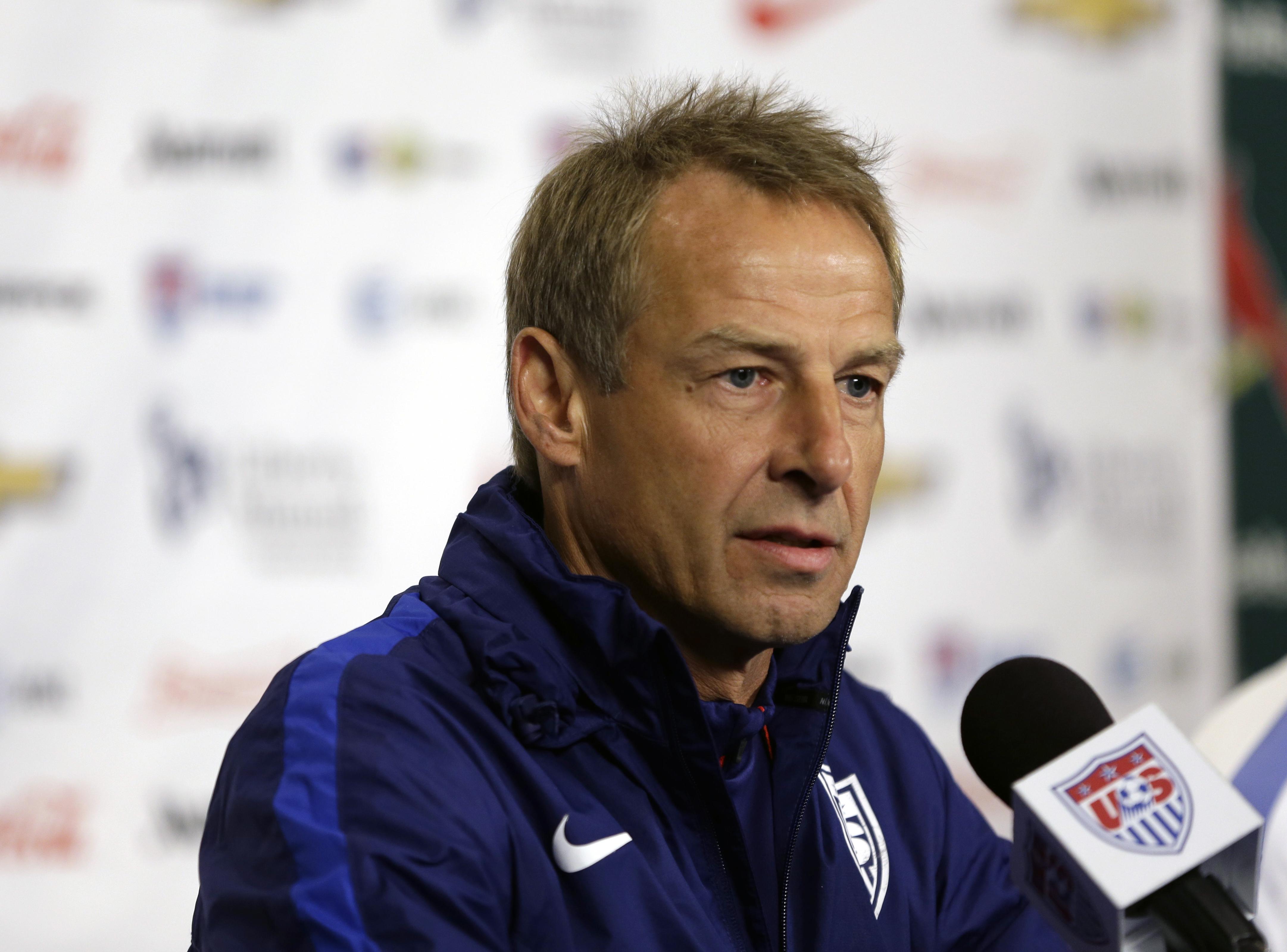 Jurgen Klinsmann。(達志影像資料照)