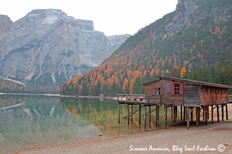 O lindo lago de Braies!