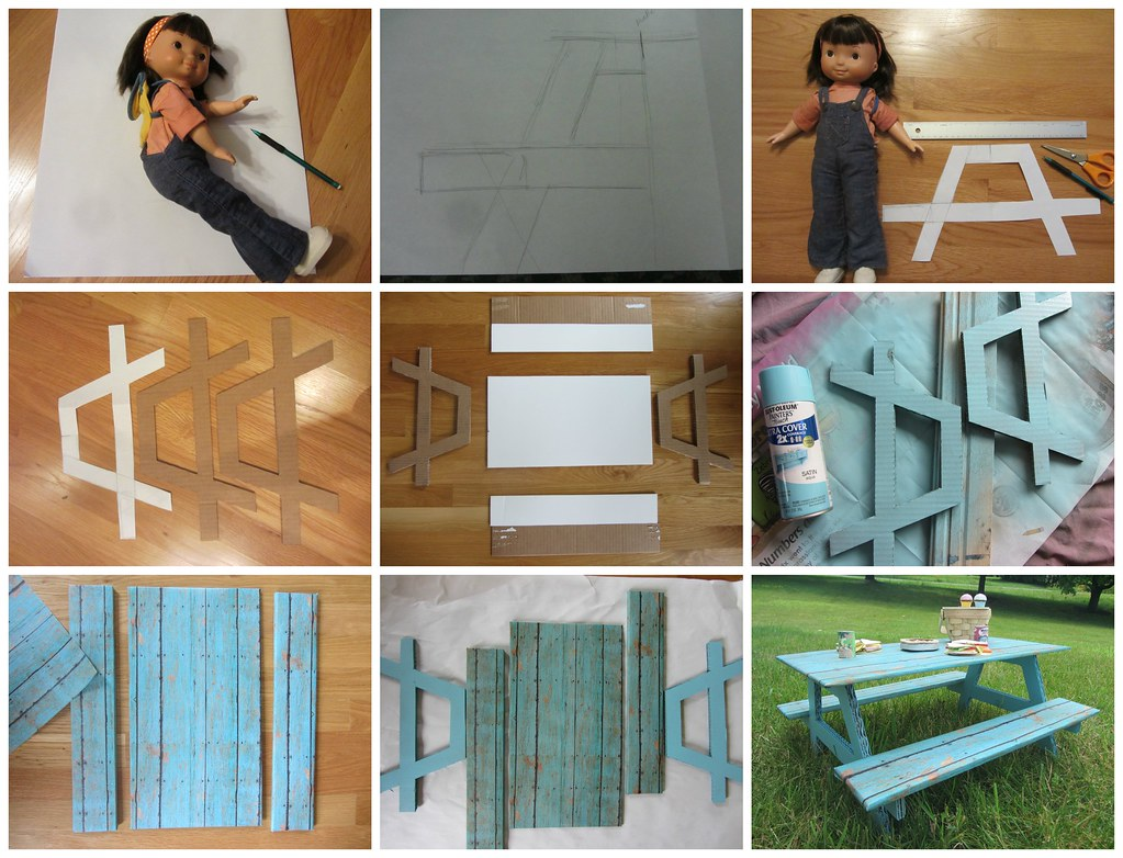 10 How To Make A Doll S Picnic Table I Learned How To