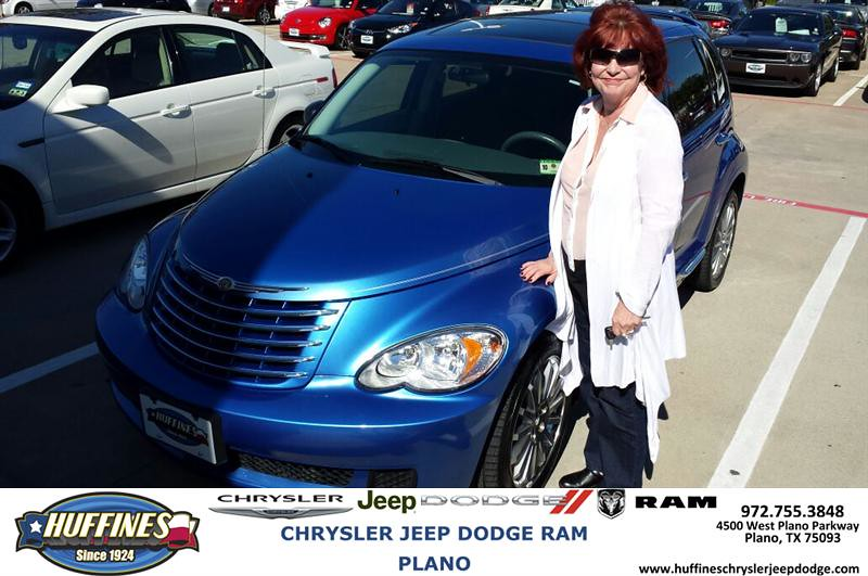 Thank You To Sherida Fisher On Your New Chrysler Pt Cruis
