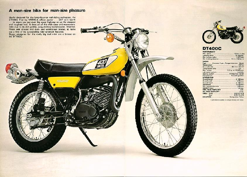 1975 Yamaha Dt 125 Wiring Diagram : Yamaha dt wiring diagram