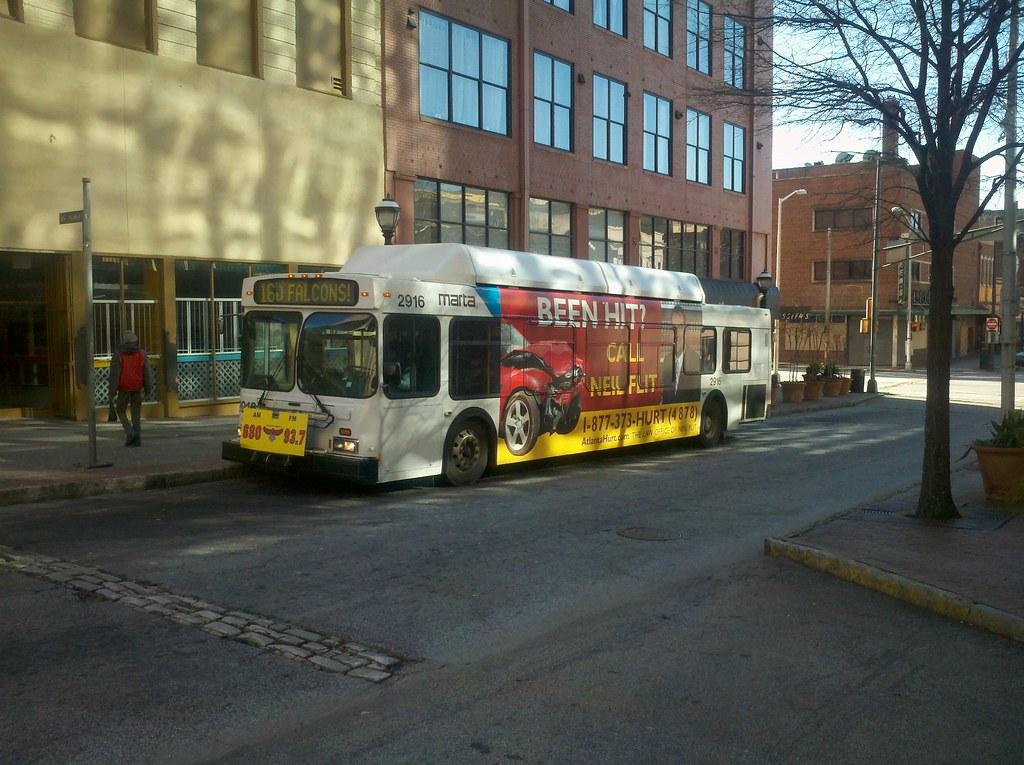 Photo By Kristain Baty Transit Agency Marta Bus Route