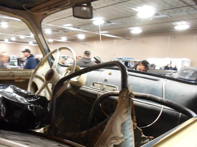 1959 Fiat 600 interior