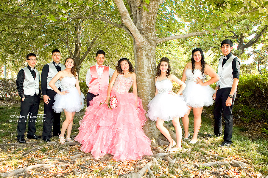 Quinceaneras Court Quinceaneras Photography By Juan Huert
