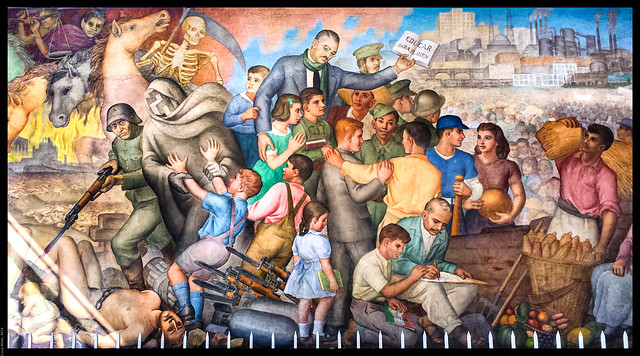 Mural 39 la historia del siglo xx 39 frag de jos atanasio for El mural guadalajara jalisco