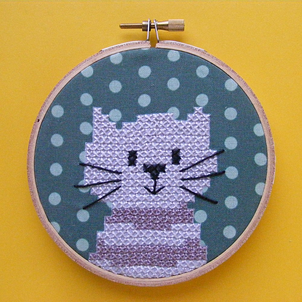 Felix easy embroidery kit i love this new