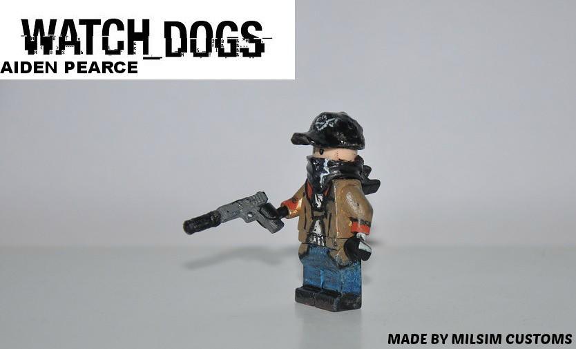 Lego Watch Dogs Minifigure