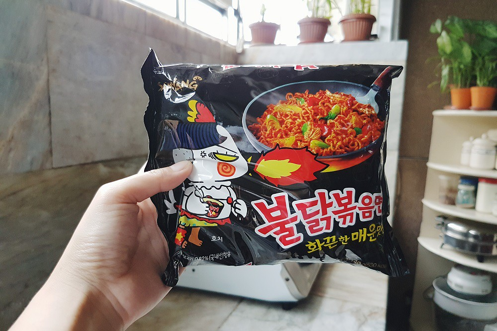 korean fire noodles