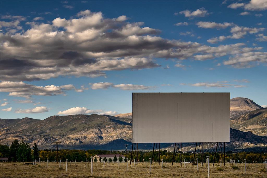 Comanche Drive-In, Buena Vista, Colorado