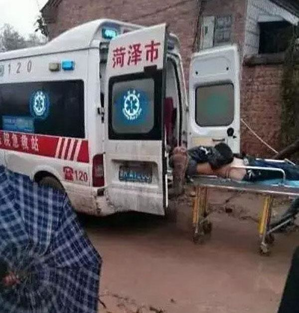 Shandong heze a building under construction collapsed, official: 4 dead, 8 injured, police investigations