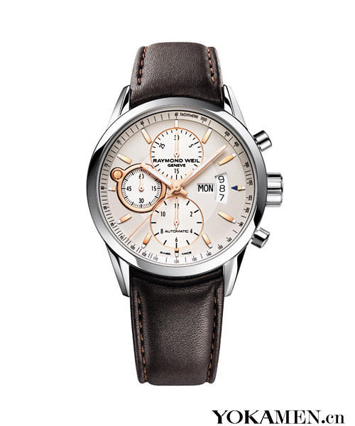 Raymond Weil new freedom riders rose time of chronograph