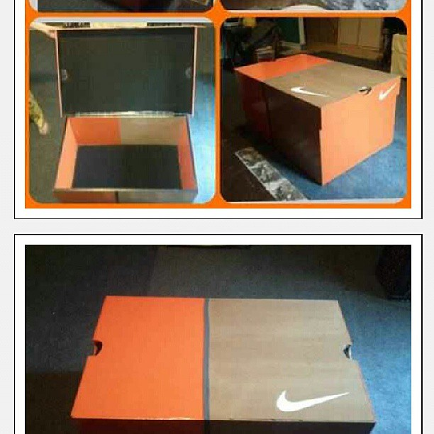 Superb This Nike Shoebox Coffee Table Is Dope, Time To Get.biggeru2026 | Flickr