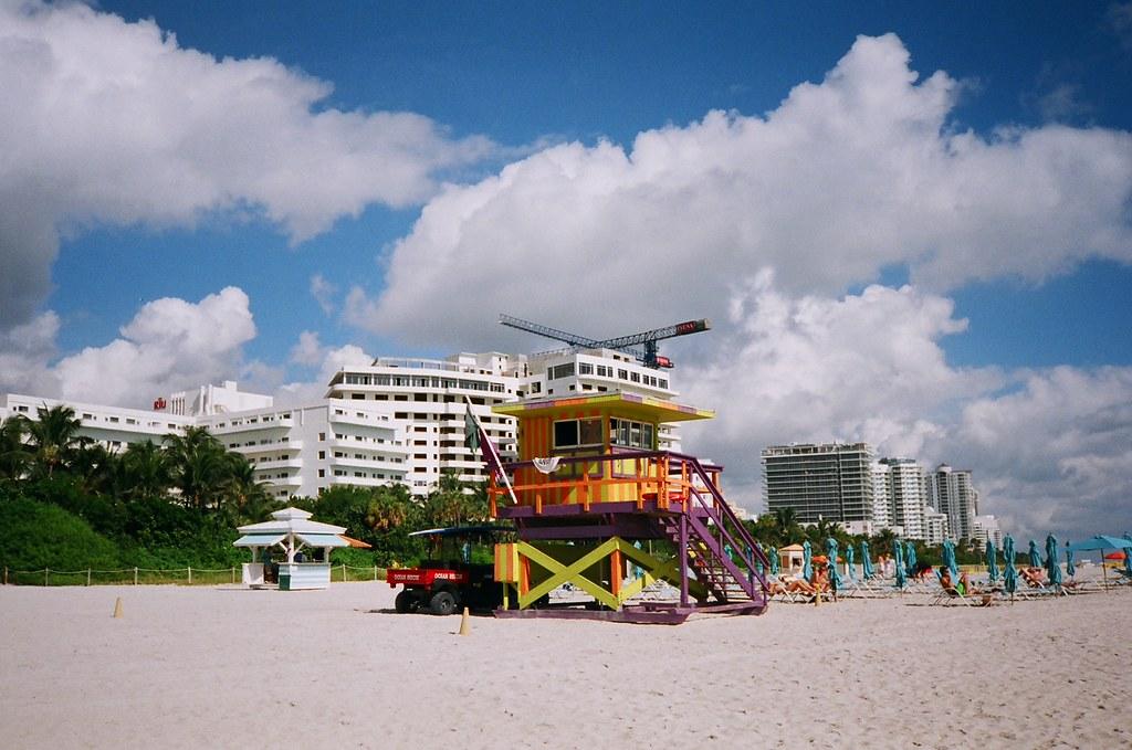 Miami Beach Cars Beach