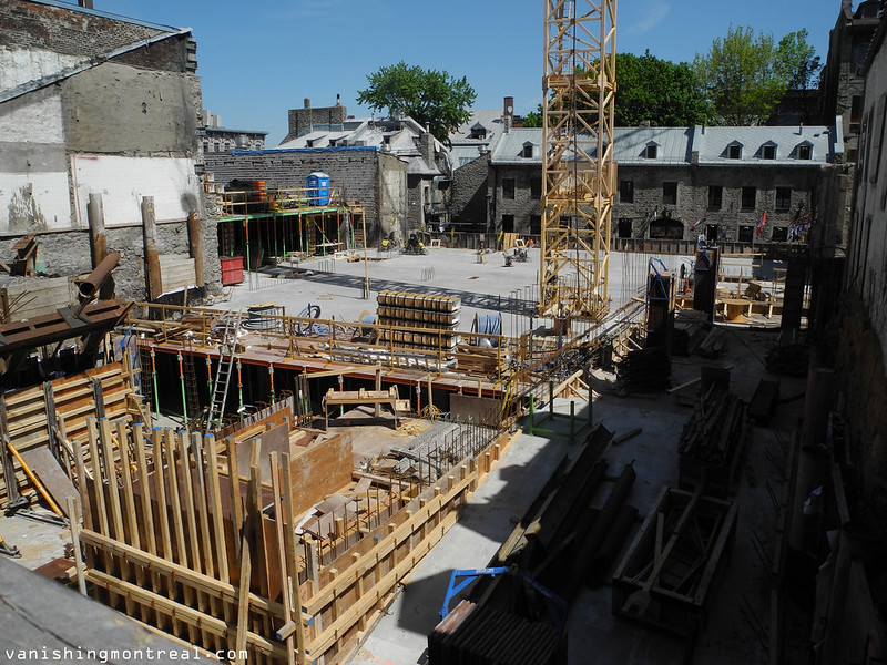 Place Jacques Cartier construction 2