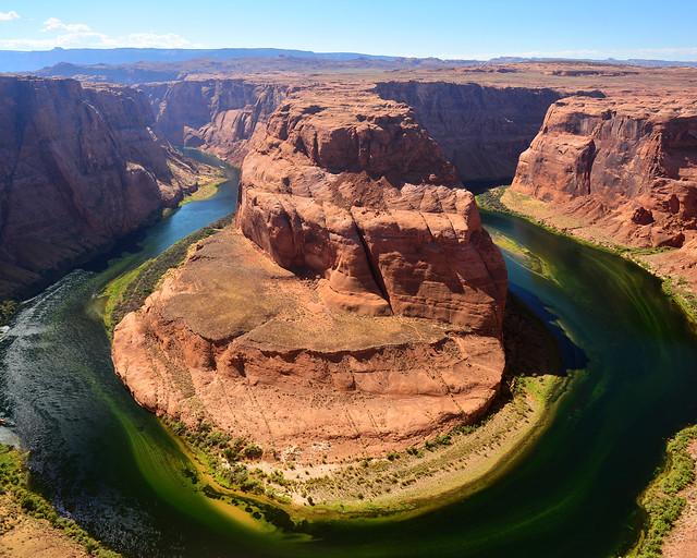 Horseshoe Bend en Page, uno de los lugares más espectaculares de la Costa Oeste de Estados Unidos