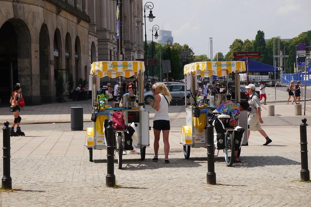 Limonada en bicicleta