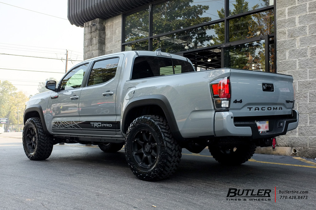 Toyota Tacoma TRD Pro with 18in Black Rhino Glamis Wheels … | Flickr