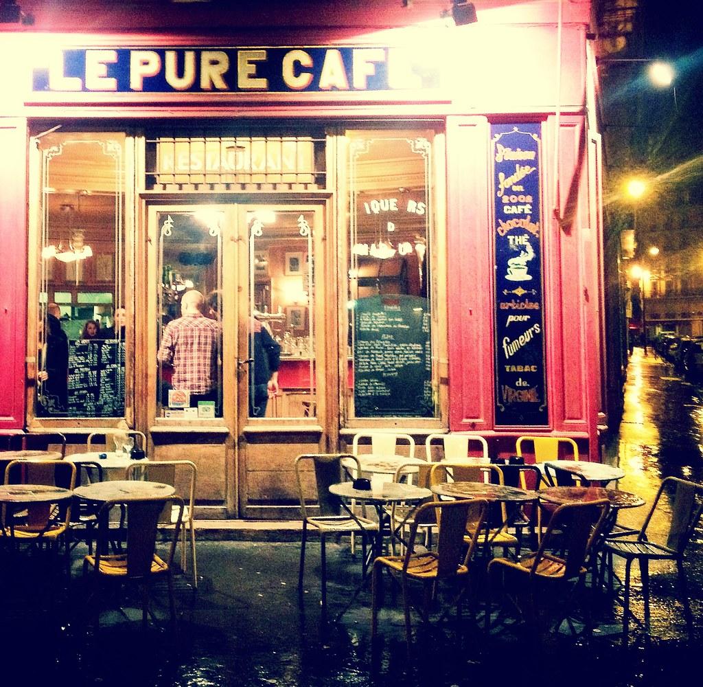 le pure cafe paris april 2013 derek key flickr. Black Bedroom Furniture Sets. Home Design Ideas