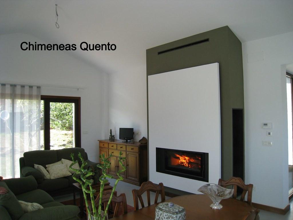Chimenea quento modelo porto con carbel c 100 - Chimeneas quento ...