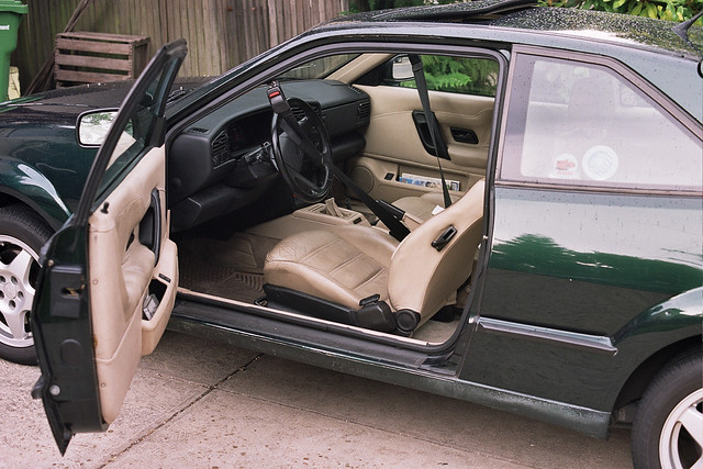 Corrado driver's door open, instruments and controls | Flickr - Photo ...