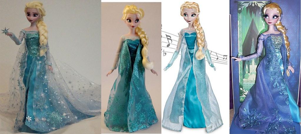 Snow Queen Elsa Doll Elsa The Snow Queen Ooak