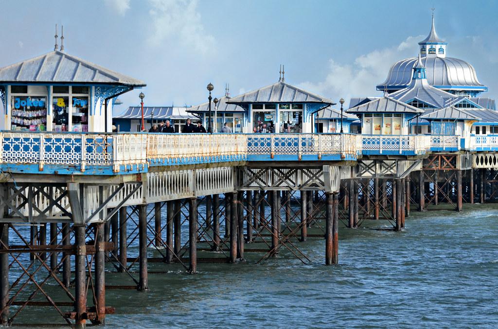 Llandudno pier built in 1877 llandudno pier is a pier for Pirates landing fishing pier