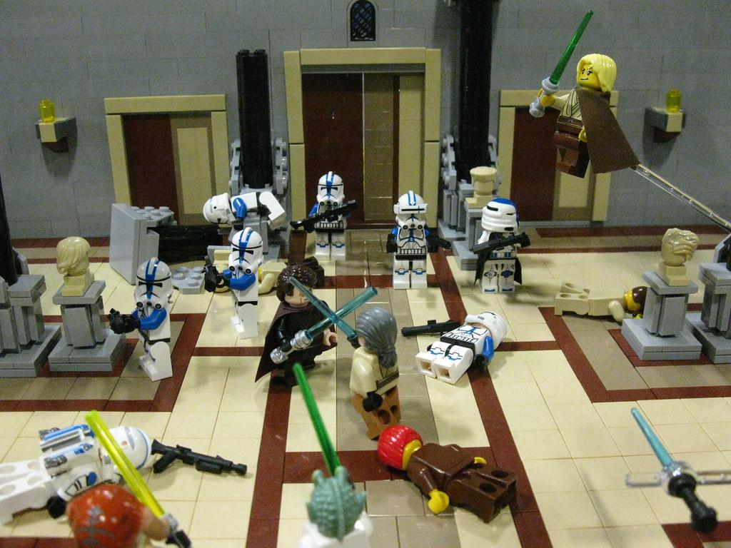 Order 66 Jedi Temple Library Bluenynja808 Flickr