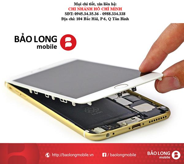 """Nhắc nhở của nhà sản xuất tới người dùng bây giờ để phân biệt được màn hình hàng """"zin"""" khi thay màn hình iPhone 6 Plus"""