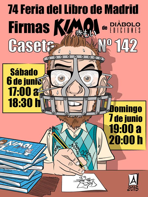 Firmas Feria Libro Madrid 2015