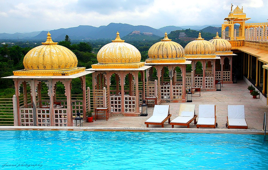 Chunda Palace Udaipur Roof Swimming Pool 7 Pictures Flickr
