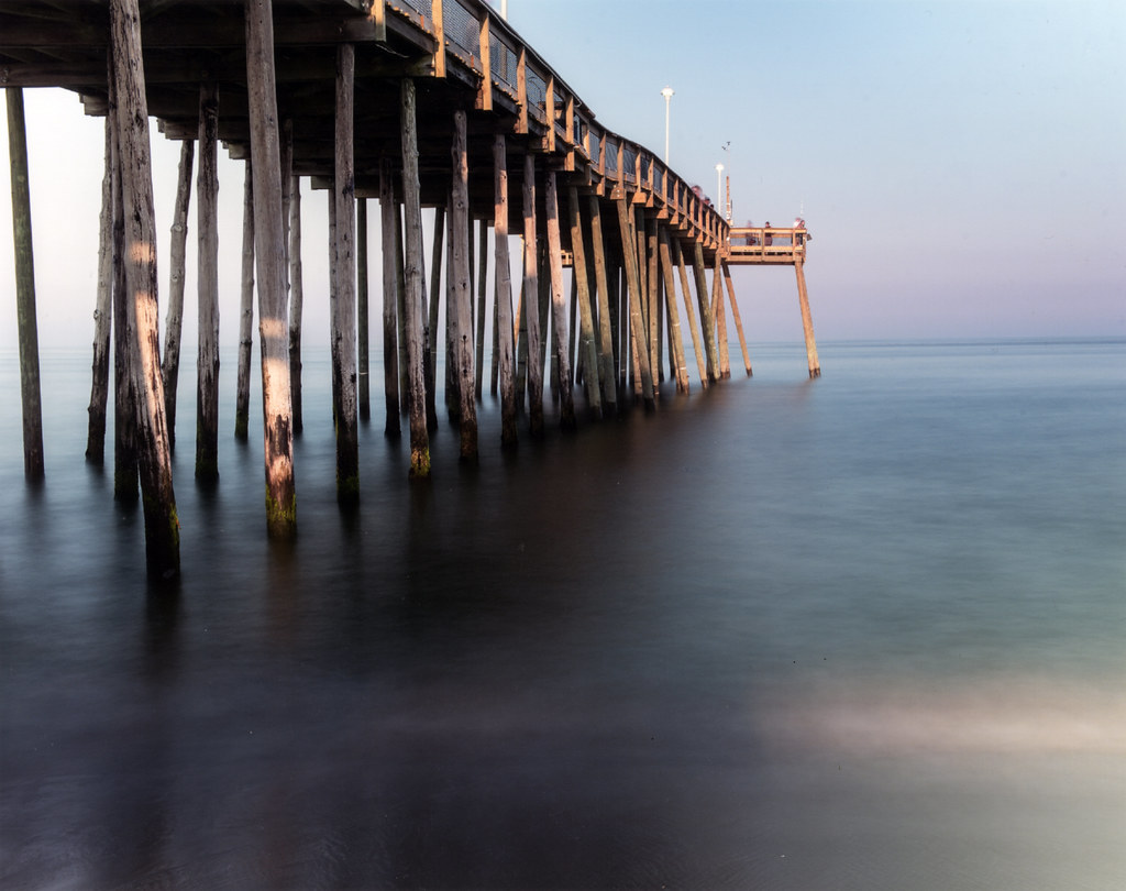 Fishing pier by joseph h soares 1st place scenic taken for Maryland fishing piers
