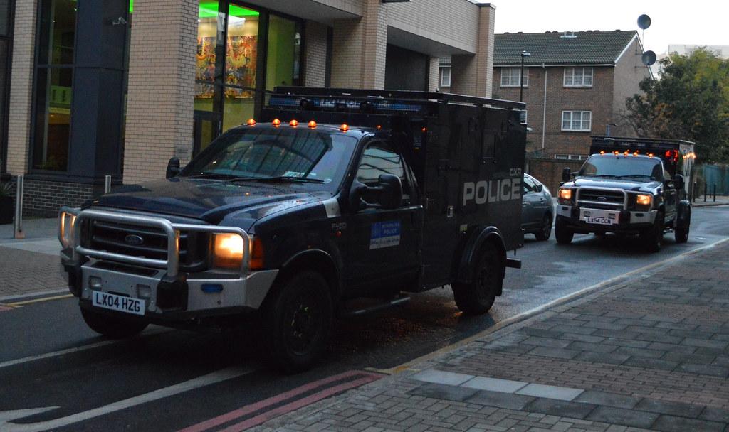 London Vehicle Finder >> Metropolitan Police | Ford F450 Jankel | Armored Response … | Flickr