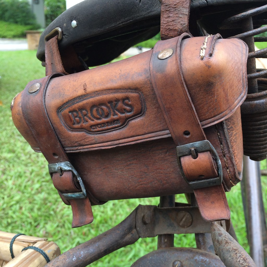 Leather Bicycle Saddles Leather Bike Saddle Bag