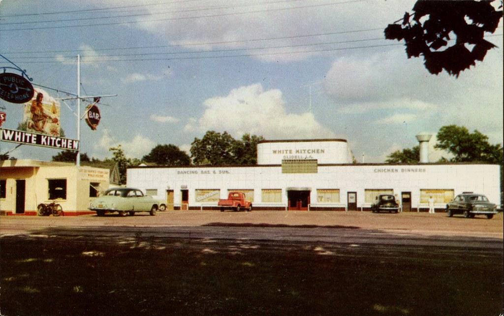 White Kitchen Restaurant Louisiana