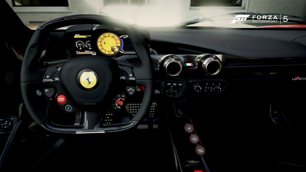 Laferrari Interior Undying Dreams Flickr