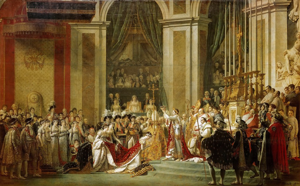 Jacques Louis David Consecration Of The Emperor Napoleon