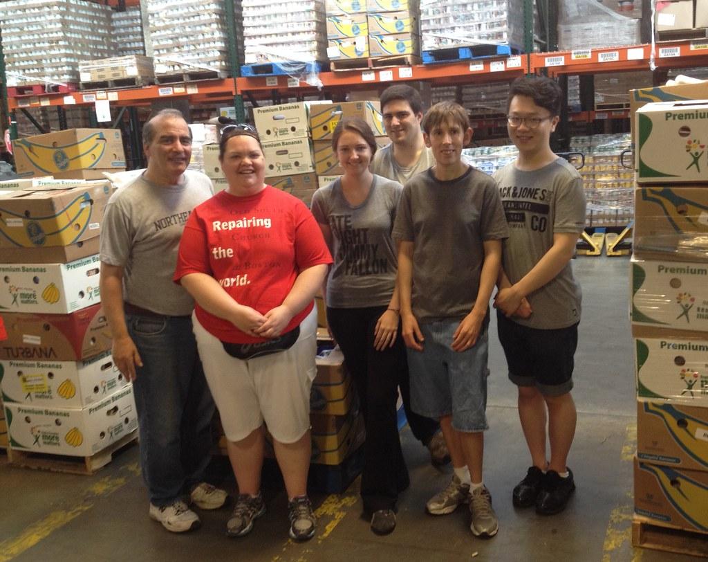 Food Bank Volunteer Maryland