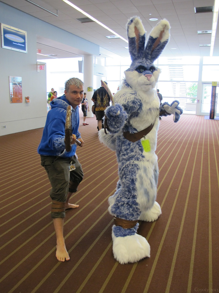 Jack Frost And The Easter Bunny