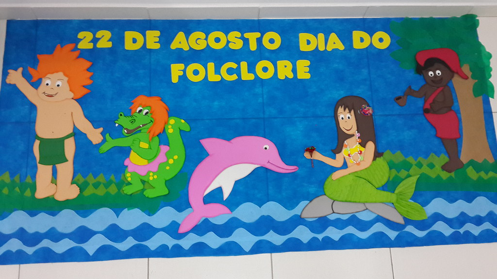 Painel Dia Do Folclore