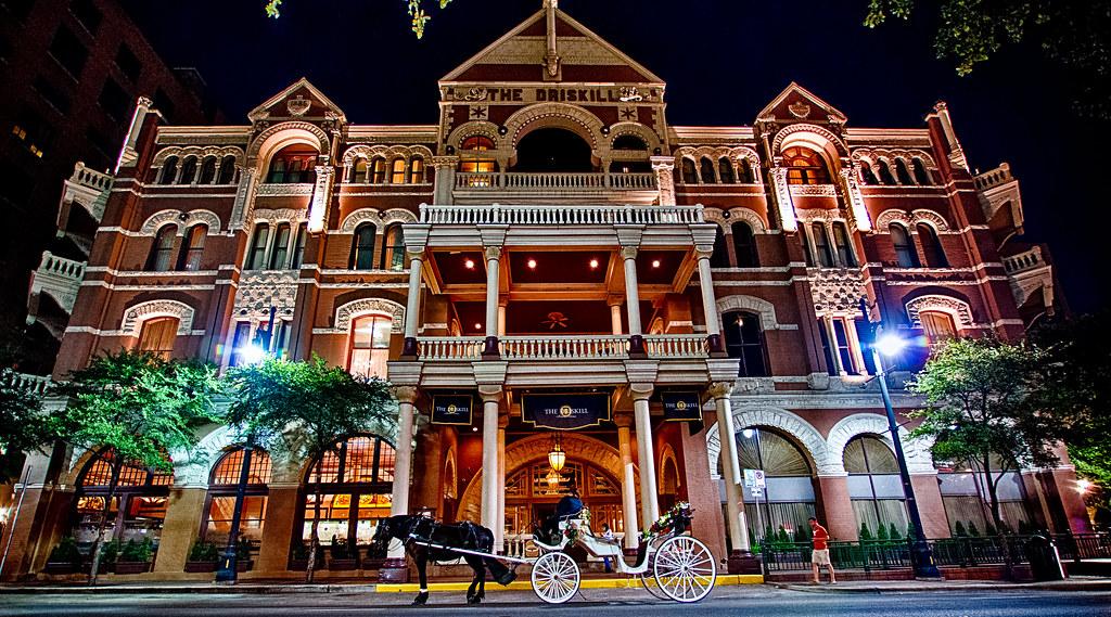 The Driskill Hotel The Famous Driskill Hotel In Austin