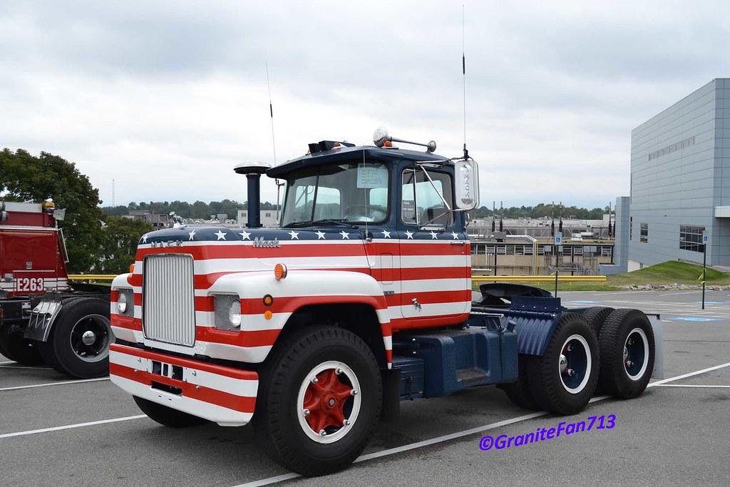 1970 Mack Truck : Mack r trucks buses trains by granitefan