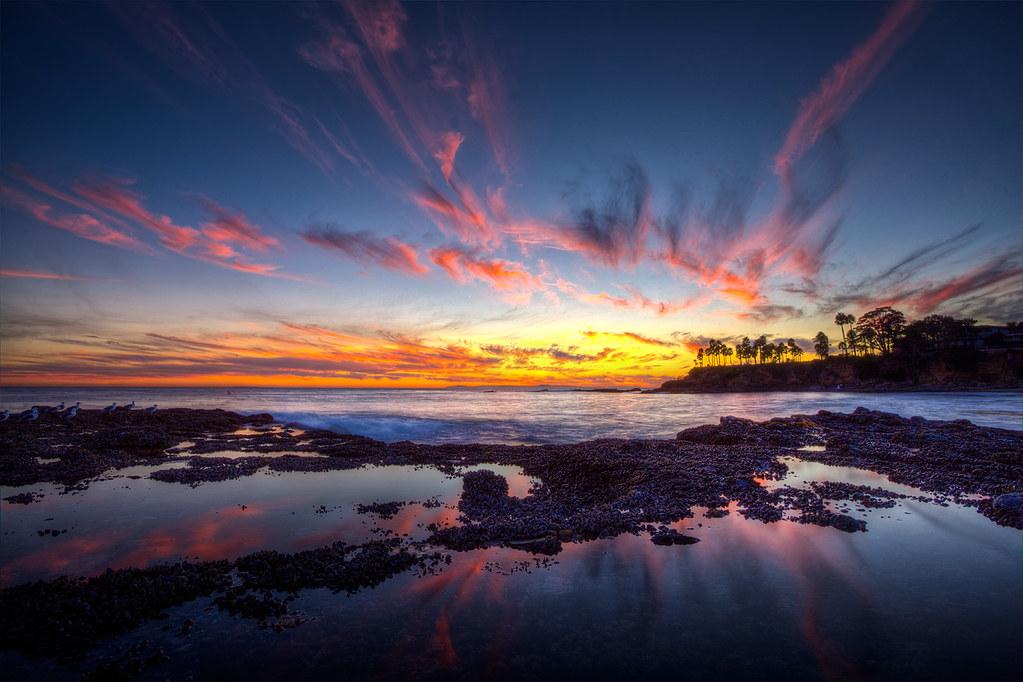 Sunset Laguna Beach October