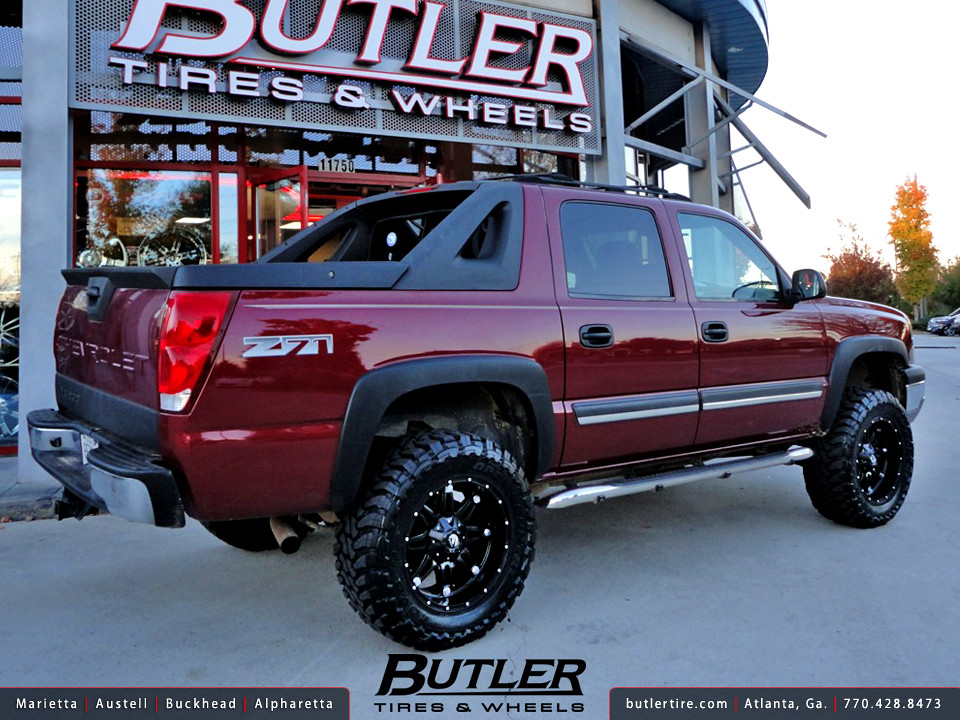 Wheels Texas Edition >> Chevy Avalanche with 20in Fuel Hostage Wheels | Additional P… | Flickr