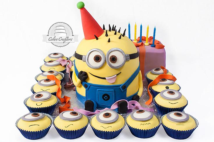 Despicable Me Birthday Cake