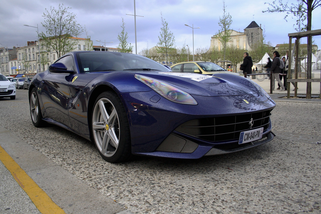 blue f12 here is a cool f12 saw in my city la rochelle flickr. Black Bedroom Furniture Sets. Home Design Ideas