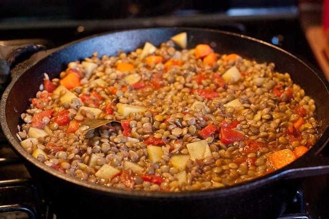 Spanish Lentil Stew-4 | Flickr - Photo Sharing!