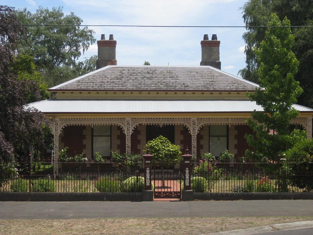 An Early Victorian Regency Villa Ballarat This Neat
