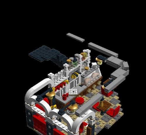 MOC/MOD)-Cafe Corner Furnitures - LEGO Town - Eurobricks Forums